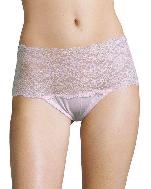 Hanky Panky - Purple Silky Skin Hi-rise Panty - Lyst
