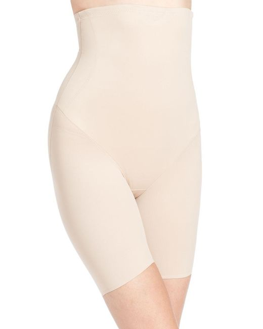 Tc Fine Intimates - Natural Extra-firm Control High-waist Thigh Slimmer - Lyst