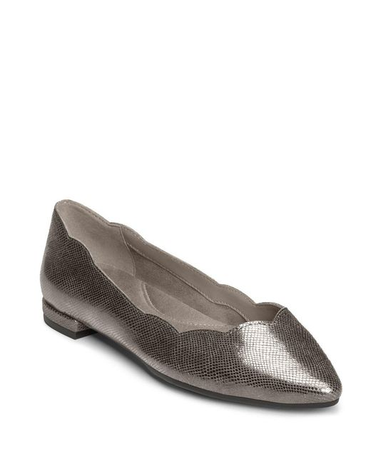 Aerosoles | Multicolor Flower Girl Leather Ballet Flats | Lyst