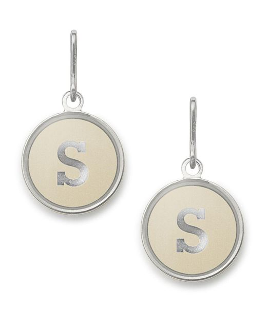 ALEX AND ANI - Metallic Initial S Necklace Charm - Lyst