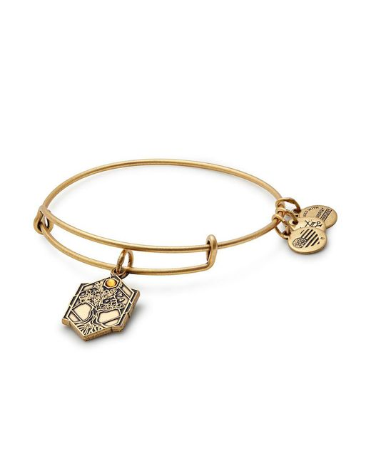 ALEX AND ANI - Metallic Tree Of Life Expandable Wire Bangle - Lyst