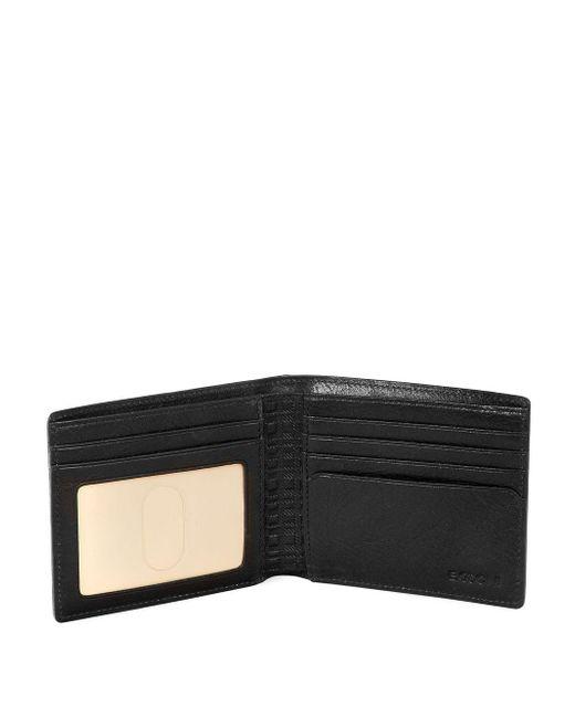 daa50692d ... Boconi - Black Becker Leather Billfold Wallet for Men - Lyst ...