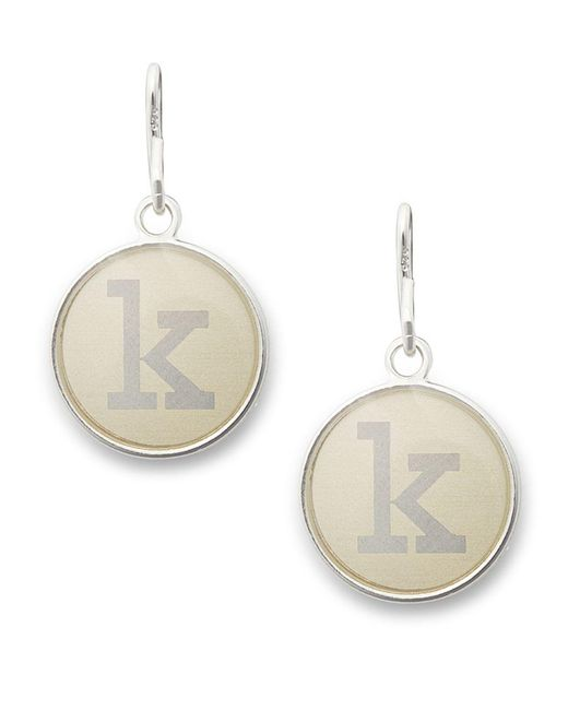 ALEX AND ANI - Metallic Initial K Necklace Charm - Lyst