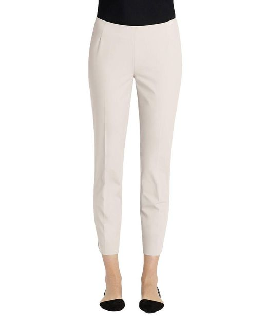 Lafayette 148 New York - Natural Stretch Stanton Pants - Lyst