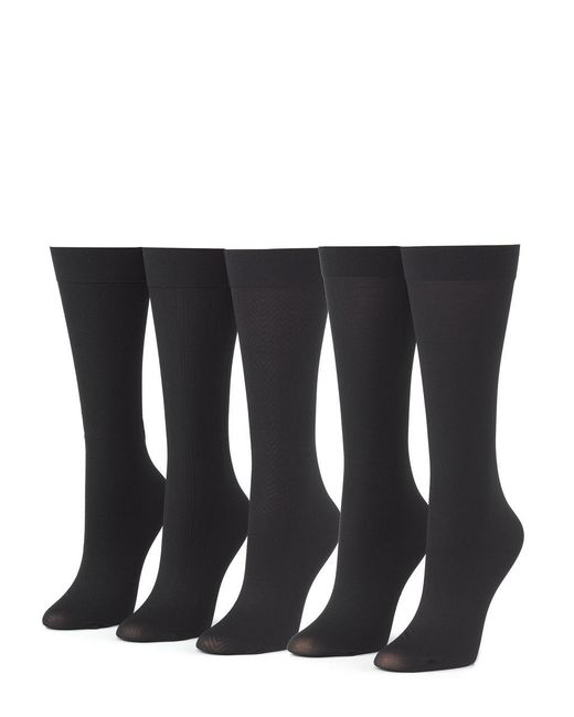 CALVIN KLEIN 205W39NYC - Black 5-pack Trouser Socks - Lyst