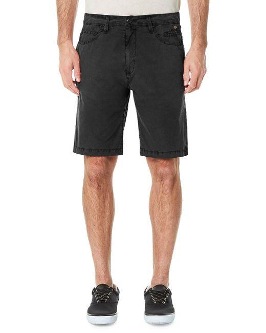 Buffalo David Bitton - Gray Hishor Shorts for Men - Lyst