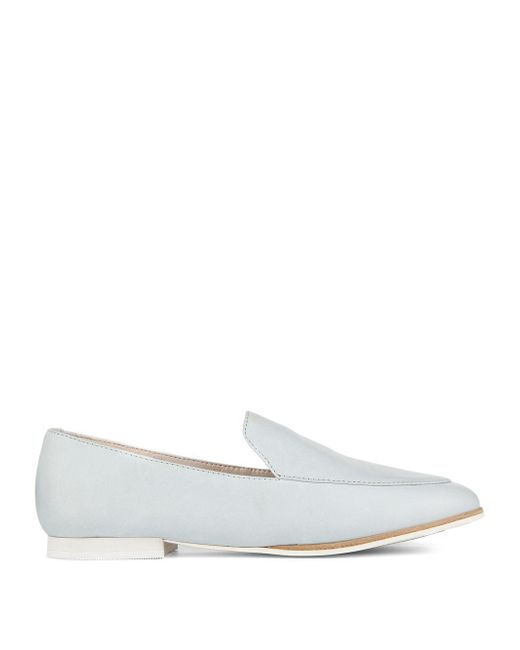 Kenneth Cole - White ??estley Welt Leather Loafers - Lyst