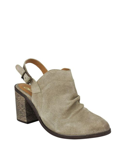 Naughty Monkey - Brown Arizona Suede Slingback Mules - Lyst