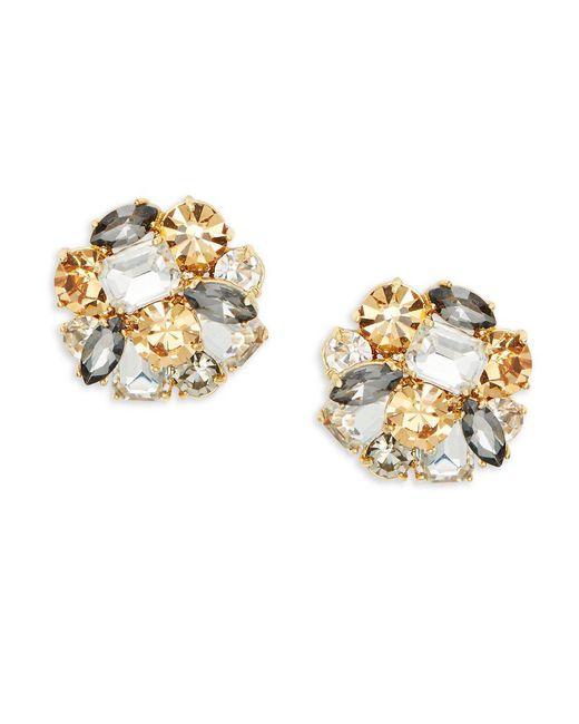 Kate Spade - Metallic Shine On Cluster Stud Earrings - Lyst