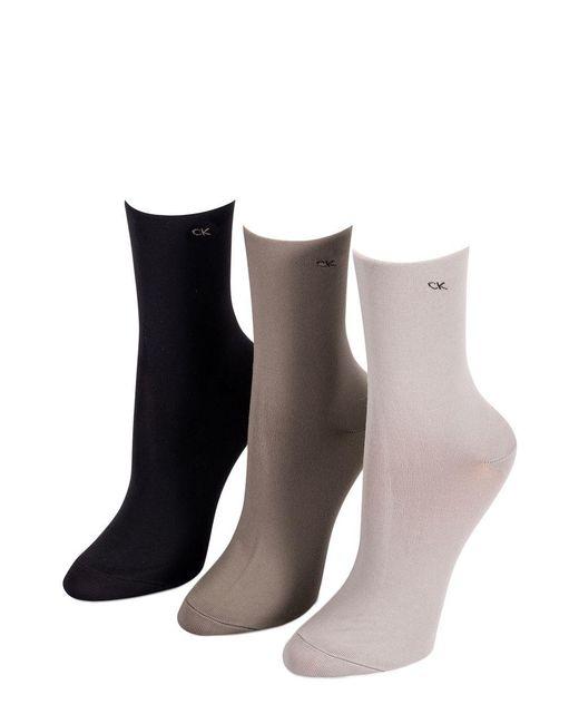 Calvin Klein - Brown 5-pack Crew Socks - Lyst
