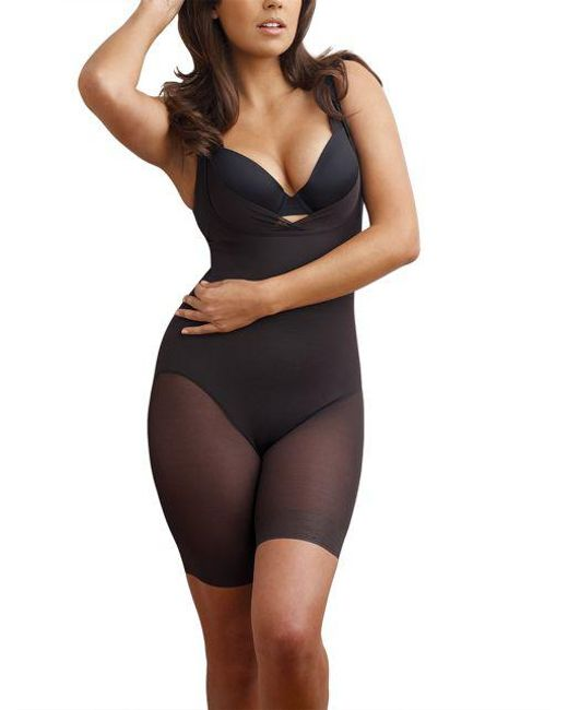 Miraclesuit - Black Sheer Shaping Singlette - Lyst
