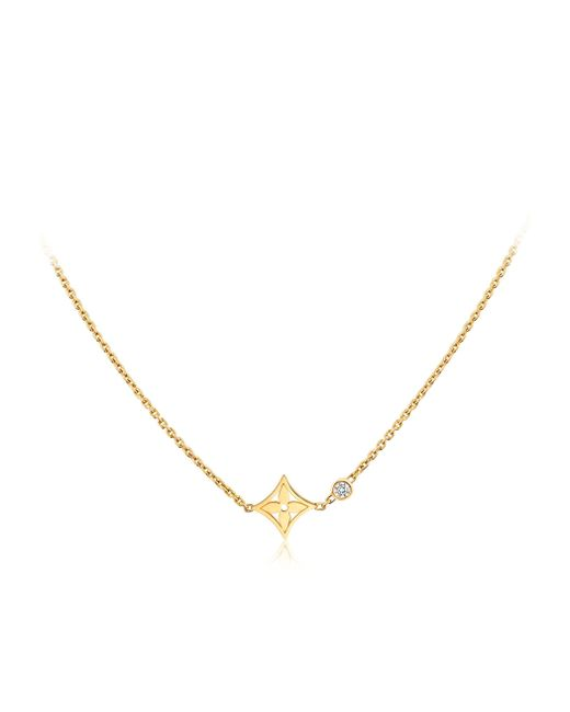 Louis Vuitton | Idylle Blossom Pendant, Yellow Gold And Diamond | Lyst