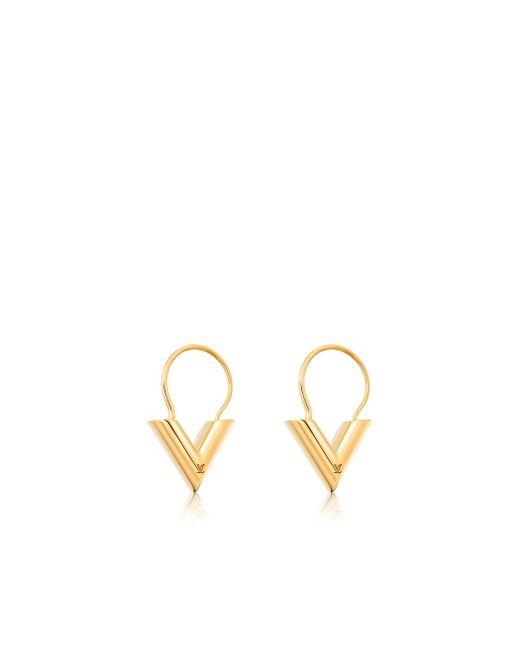 Louis Vuitton | Metallic Essential V Hoops | Lyst