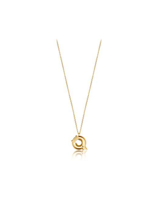 Louis Vuitton | Metallic Lv & Me Necklace, Letter Q | Lyst