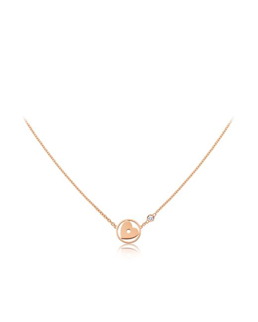 Louis Vuitton | Idylle Blossom Heart Pendant, Pink Gold And Diamond | Lyst