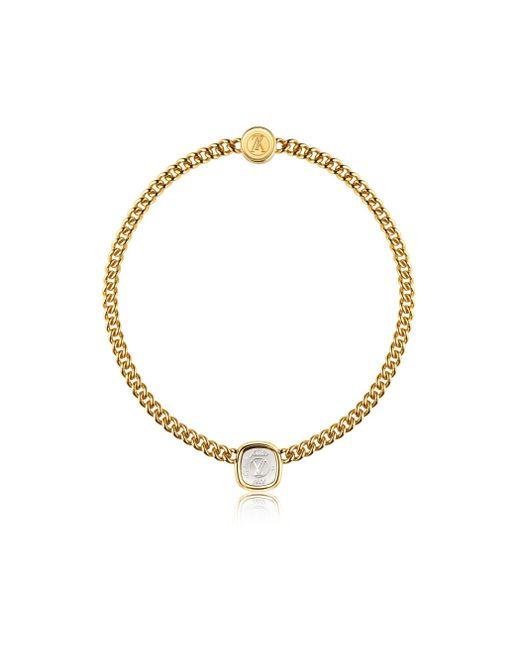 Louis Vuitton | Metallic I.d. Necklace | Lyst