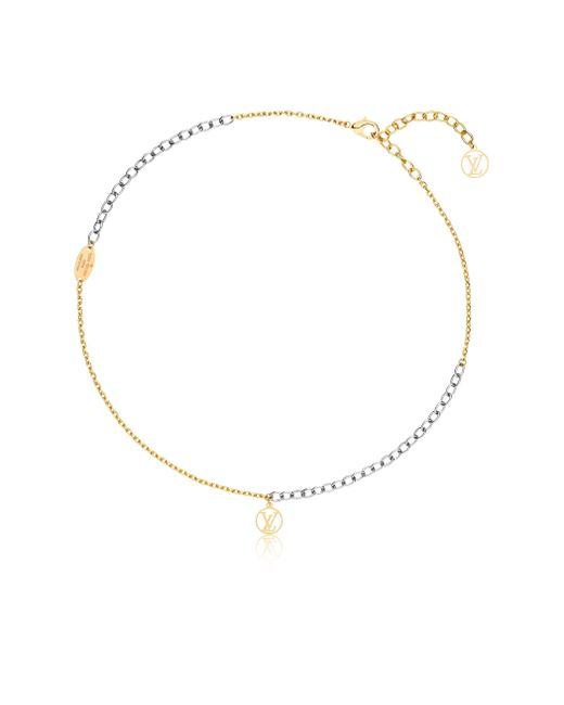 Louis Vuitton | Metallic Logomania Necklace | Lyst