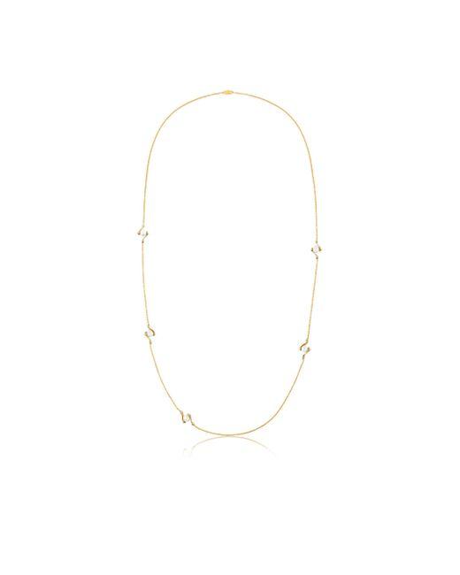 Louis Vuitton | Metallic Lv Speedy Pearls Long Necklace | Lyst
