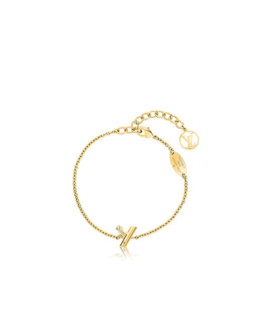 Louis Vuitton | Metallic Lv & Me Bracelet, Letter Y | Lyst
