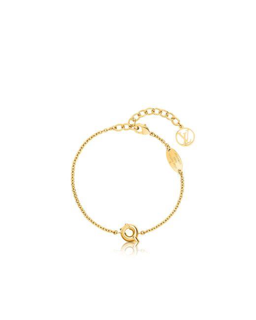 Louis Vuitton   Metallic Lv & Me Bracelet, Letter Q   Lyst