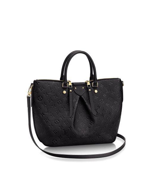 Louis Vuitton | Black Mazarine MM Leather Tote | Lyst