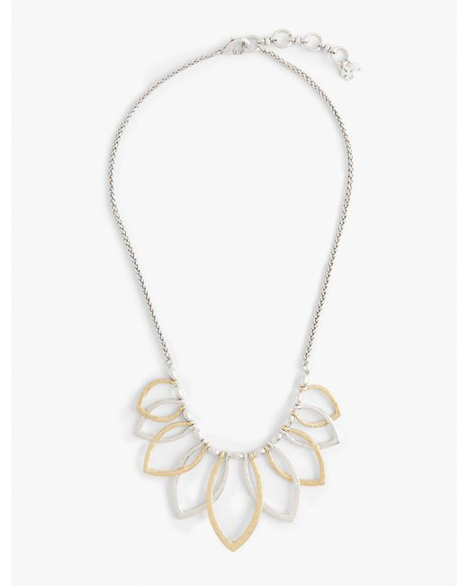 Lucky Brand   Multicolor Petal Collar Necklace   Lyst