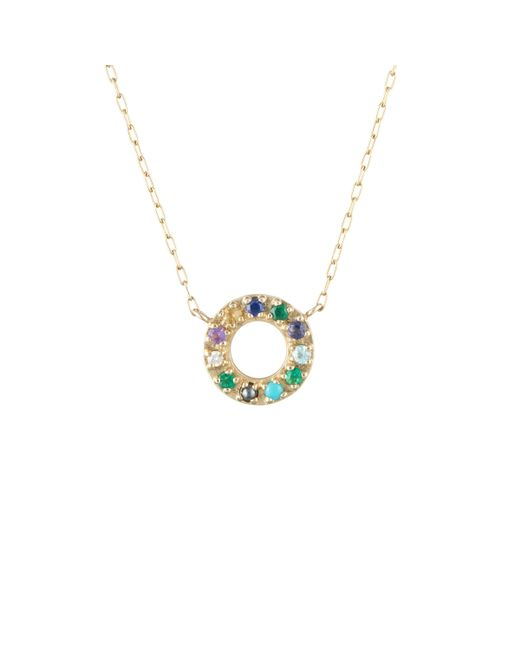 Lulu Frost - Metallic Code Word Seize The Day Necklace 10k Gold - Lyst
