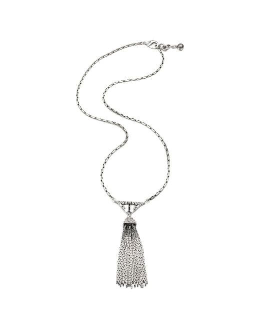 Lulu Frost - Multicolor Proxima Tassel Necklace - Lyst