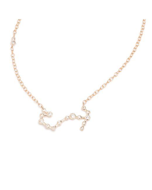 Lulu Frost   Metallic Zodiacs Scorpio + Water Necklace   Lyst