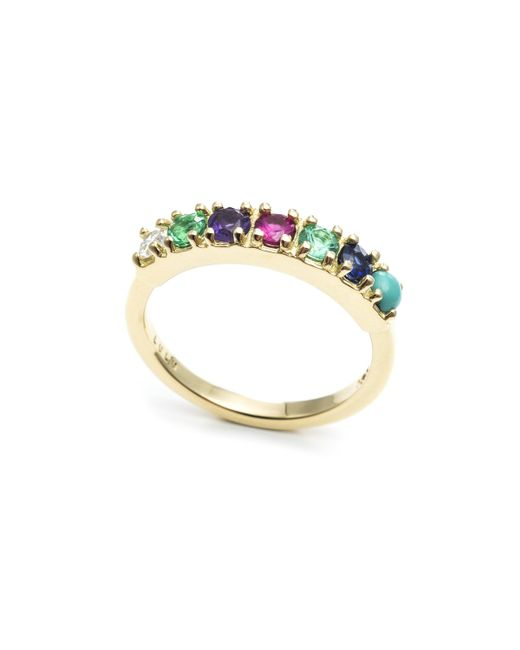 Lulu Frost - Metallic Code Word Dearest Ring 14k Gold - Lyst