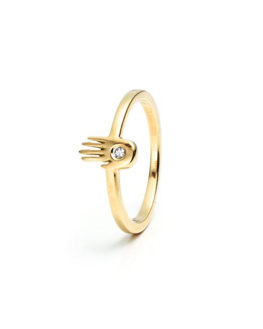 Lulu Frost | Metallic Palm Ring 18kt | Lyst