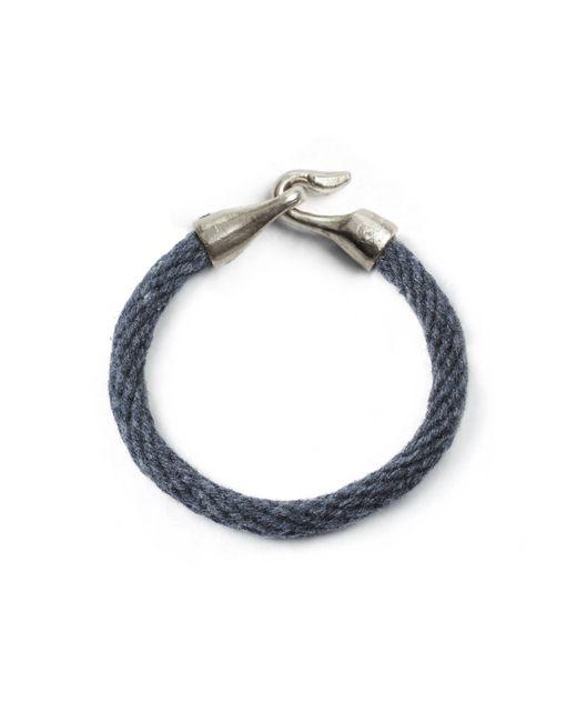 Lulu Frost - Blue George Frost Harpoon Bracelet - Navy & White Bronze - Lyst