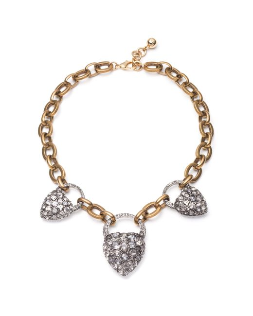 Lulu Frost - Multicolor Blackheart Necklace - Lyst
