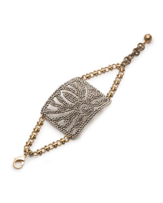Lulu Frost | Metallic *vintage* Cut-steel Bracelet 1 | Lyst