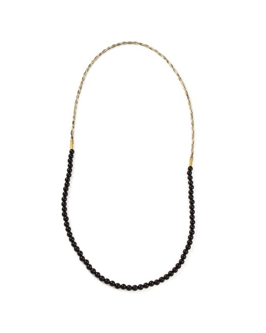 Lulu Frost | Multicolor G. Frost X Michael Bastian - Horsehair Beaded Necklace Blk | Lyst