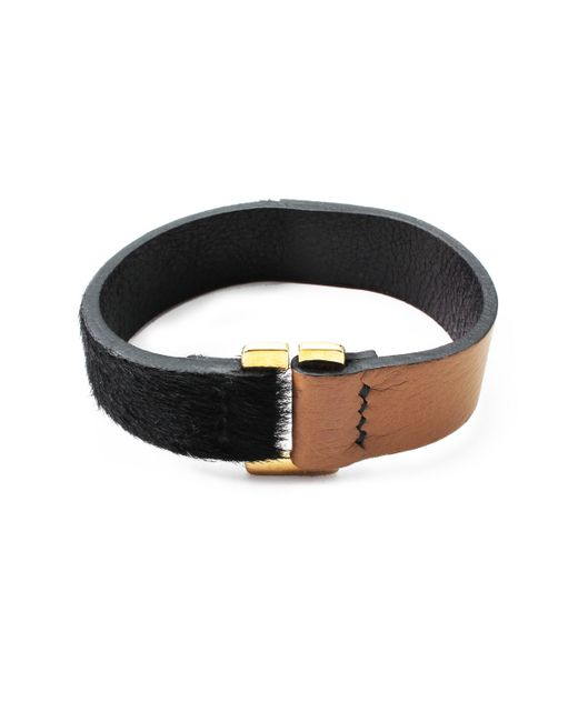 Lulu Frost | Black George Frost Equus Bracelet for Men | Lyst
