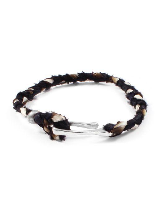 Lulu Frost   George Frost Taros Bracelet - Black/cream   Lyst