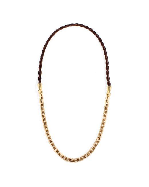 Lulu Frost   Metallic George Frost Bullion 50/50 Necklace   Lyst