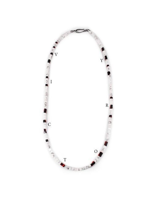 Lulu Frost | White George Frost 'victory'' Morse Necklace | Lyst
