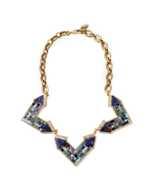 Lulu Frost   Multicolor Petra Statement Necklace   Lyst