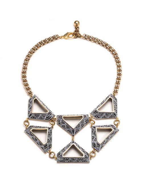 Lulu Frost   Metallic Veruschka Statement Necklace   Lyst