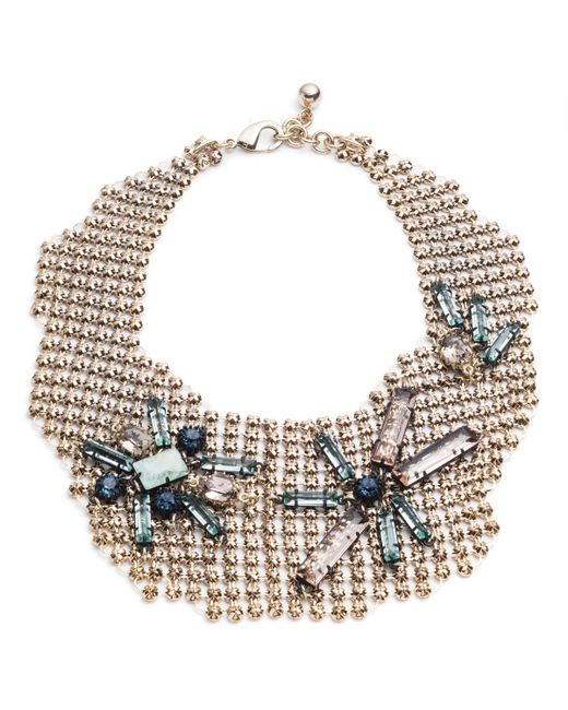 Lulu Frost | Metallic Cite Necklace | Lyst