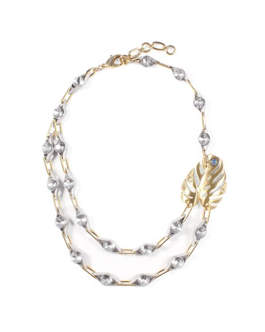 Lulu Frost | Metallic Oasis Necklace | Lyst