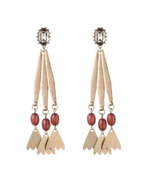 Lulu Frost - Metallic Sierra Statement Earrings - Lyst