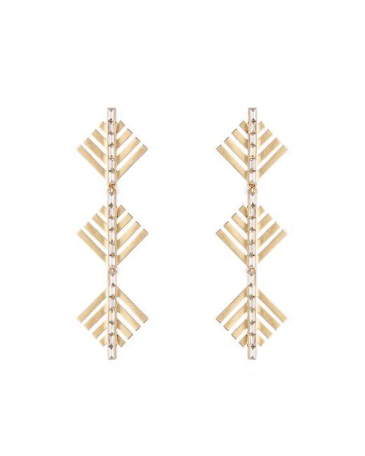 Lulu Frost - Metallic Cascadia Pine Drop Earrings - Lyst