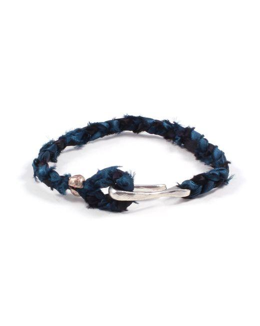 Lulu Frost - Blue George Frost Taros Bracelet - Teal for Men - Lyst