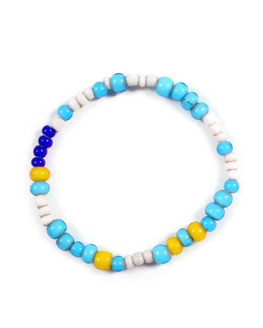 Lulu Frost - Blue George Frost Chaoun ''calm'' Morse Bracelet - Lyst