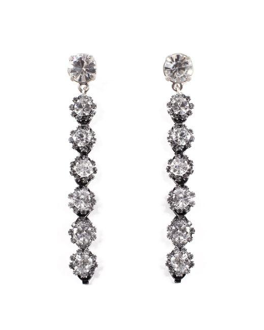 Lulu Frost - Multicolor Royale Crystal Line Earrings - Lyst