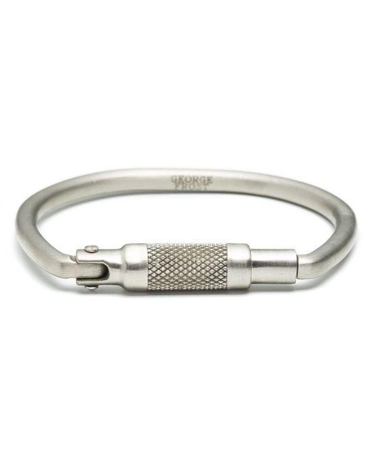 Lulu Frost - Multicolor Carabiner Bracelet- White Bronze for Men - Lyst