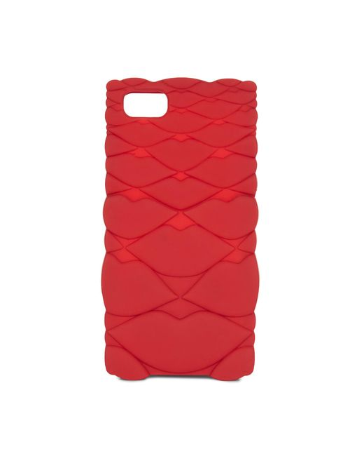 Lulu Guinness | Red Quilted Lips Iphone 6/7 Case | Lyst